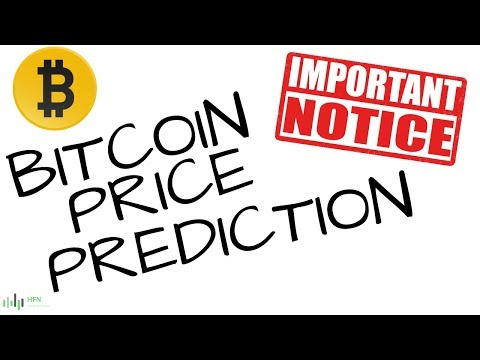 BITCOIN (BTC) PRICE PREDICTION (IMPORTANT NOTICE)
