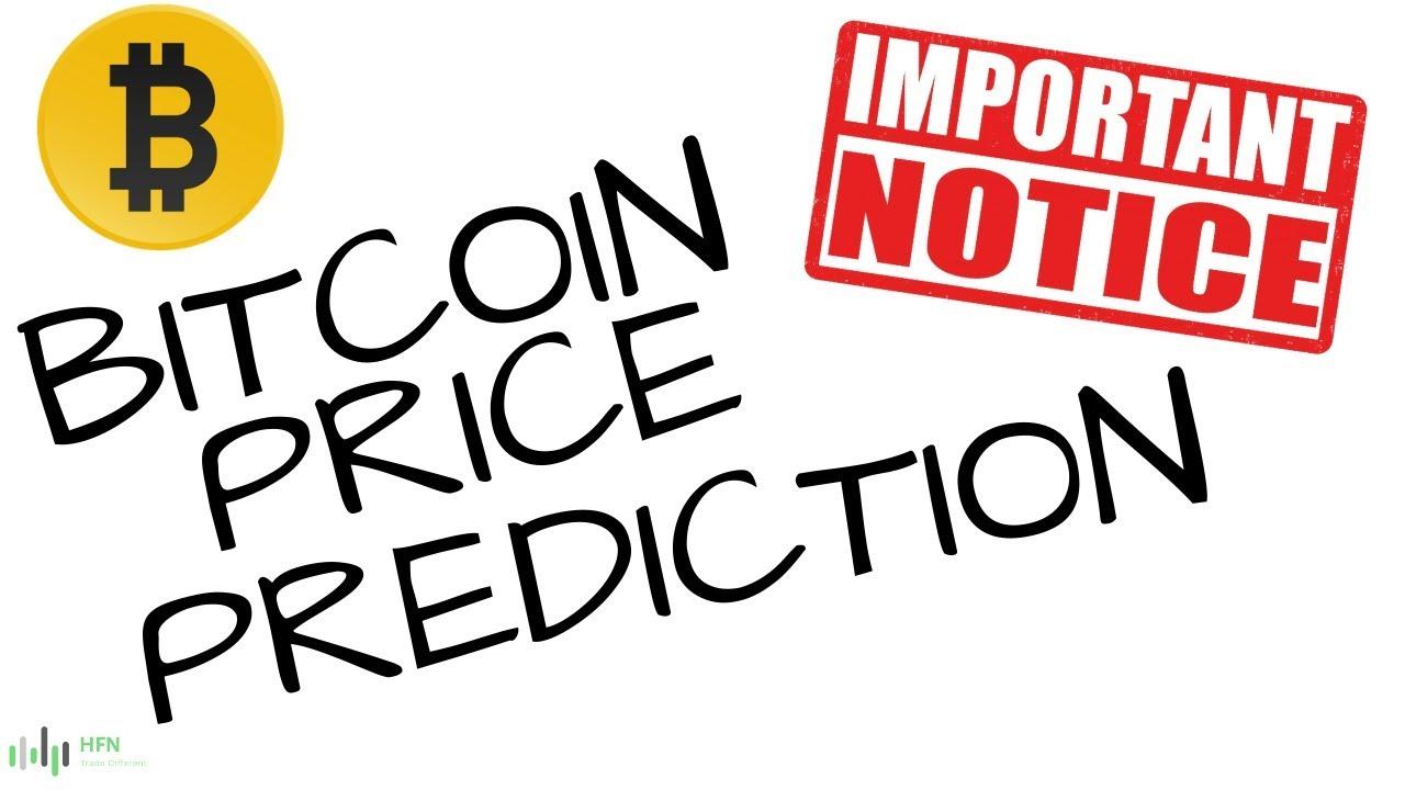 BITCOIN (BTC) PRICE PREDICTION (IMPORTANT NOTICE)