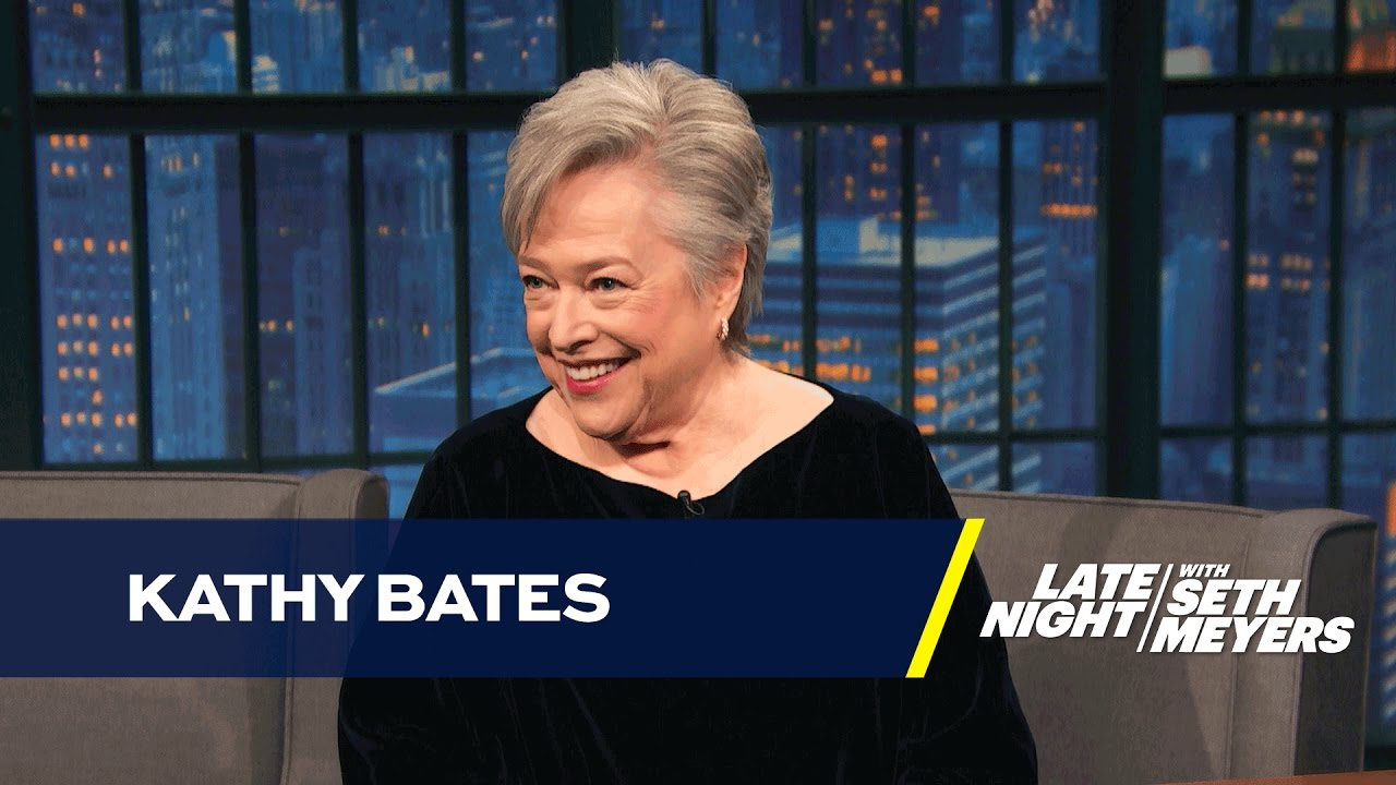 Kathy Bates' Dildo Once Went Off in a Hotel Elevator - YouTube