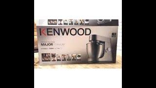 review Kenwood Kitchen Machine with attachments طريقة استخدام عجانة كينوود وملحقاتها