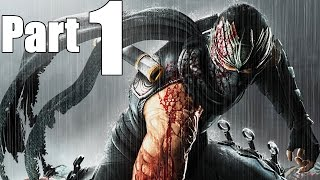 Ninja Gaiden 2 Gameplay Walkthrough Part 1- Sky City Tokyo (XBOX 360 Gameplay) [Chapters 1&2]