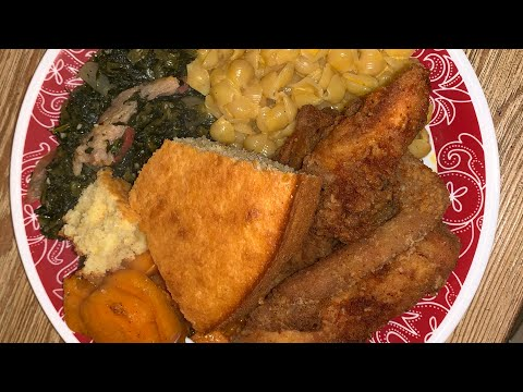Easy Southern Soul Food Sunday Dinner (step By Step)