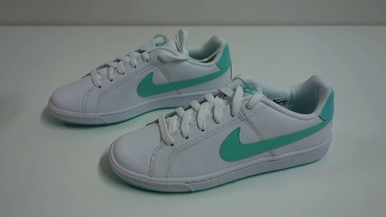 e924cbdd32a8 Dámské volnočasové boty Nike Court Royale - YouTube