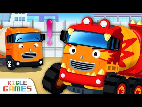 Strengthen Mixer Truck Chris | Tayo Monster Truck EP07 | Tayo The Little Bus | KIGLE GAMES