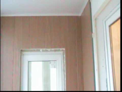 видео: Внутренняя Отделка Лоджии.