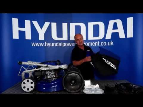 Hyundai 4-in-1 Electric Start Lawn Mower HYM51SPE Out of the Box & Assembly