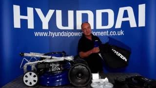 Hyundai 4-in-1 Electric Start Lawn Mower HYM51SPE Unboxing & Assembly