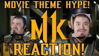 Mortal Kombat 11 - Launch Trailer REACTION! MOVIE THEME HYPE!