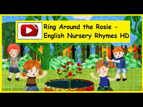 Ring Around the Rosie - English Nursery Rhymes HD - YouTube Ring Around The Rosie