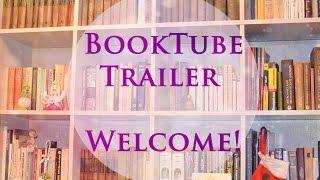 BookTube Trailer.Трейлер канала. Книжный видеоблогер.