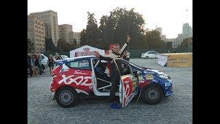 видео В Николаеве стартовал второй этап чемпионата Украины по мини-ралли