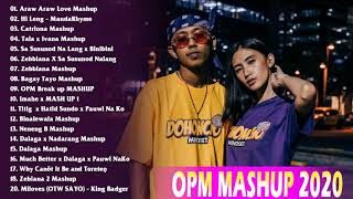 Top 100 Trending OPM Mashup Love Songs 2020 - Araw Araw Love, Hi Leng, Catriona, Ivana, Tala...