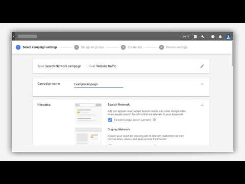 Create multiple ad groups and ads in Google Ads