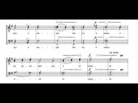 Golovanov - Kontakion to St. Nikolai Op. 1-6