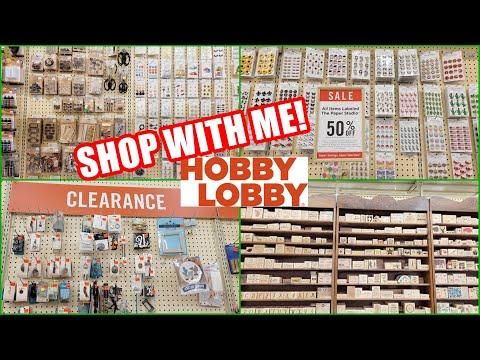 HOBBY LOBBY CRAFT SUPPLIES SHOP WITH ME 2021