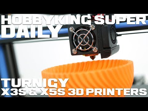 Turnigy X3S and X5S 3D Printers - HobbyKing Super Daily