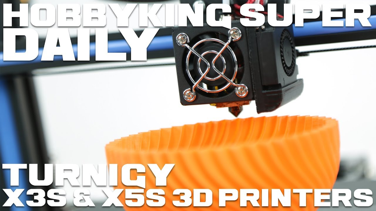 Turnigy X5S 3D Printer (US Plug)