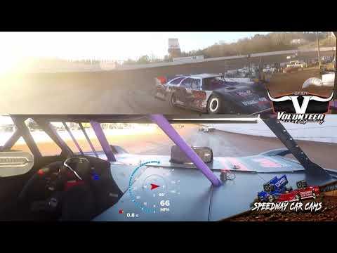 #5 Jamie Stanley - #Grinch40 Crate - 12-7-19 Volunteer Speedway - In-Car Camera