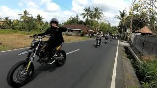 Supermoto Bali    riding dalam rangka anniversary SNR ke #3
