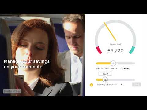 Manage your pension savings on your commute