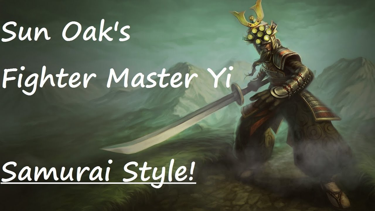 League of legends master yi fighter jungle youtube