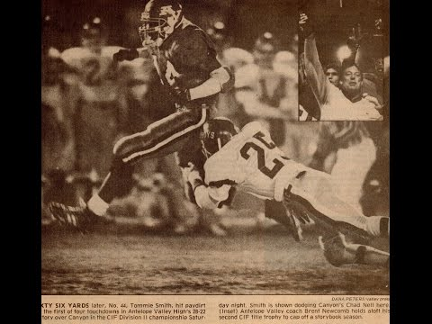 CIF SOUTHERN SECTION DIVISION II 1988 FINALS  Canyon Cowboys Vs Antelope Valley