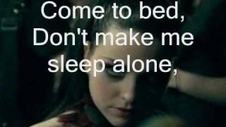 Evanescence - Lithium Instrumental ( With Lyrics On-Screen )
