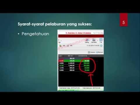 Cara Main Saham Malaysia - Main Saham di BSKL Memang Boleh Untung