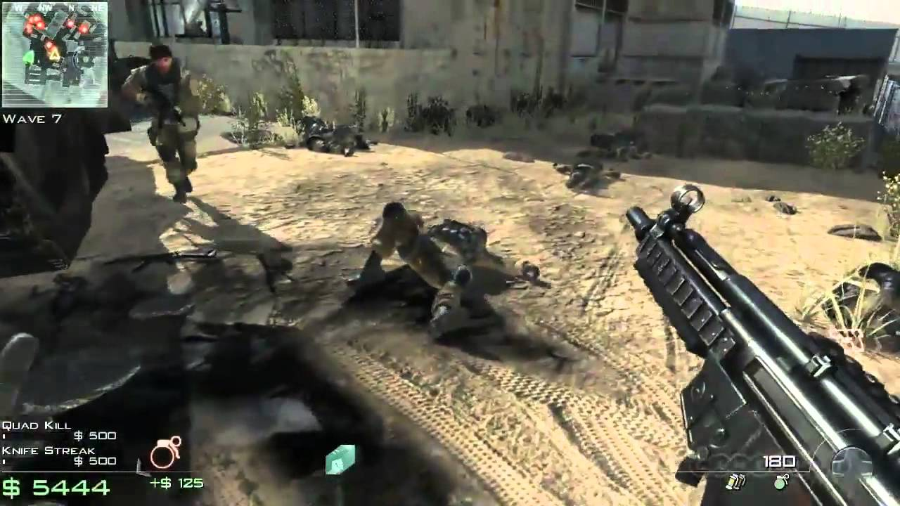 Call Of Duty Modern Warfare 3 Survival Dome 3 Gameplay Xbox 360