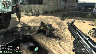 Call of Duty: Modern Warfare 3 Survival: Dome 3 Gameplay (Xbox 360)