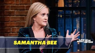Samantha Bee's Work as a Waitress Prepared Her for Donald Trump