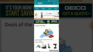 DIY how to logout of Amazon the mobile app