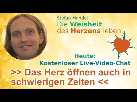 Live-Video-Chat mit Stefan Mandel