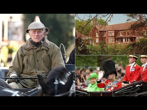 The NEW life of Prince Philip is very different from his royal life - in a cottage at Sandringham