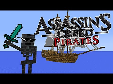Monster School : PIRATE BATTLE COMPETITION - Minecraft Animation