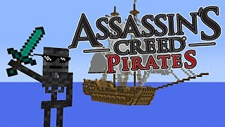 - Monster School PIRATE BATTLE COMPETITION Minecraft Animation
