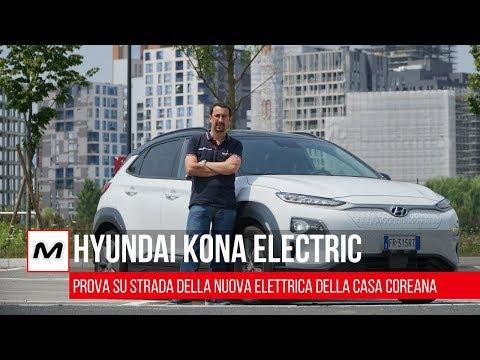 Hyundai Kona Electric   Prova su strada del piccolo SUV elettrico
