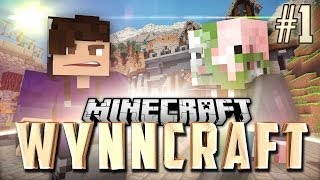 WynnCraft Role-Playing Game! Episode 1 - Our Adventure Begins!