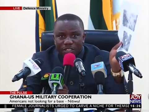 Ghana-US Military Cooperation - The Pulse on JoyNews (21-3-18)