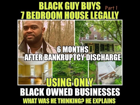 (Pt 1 of 7) How are Jews so Wealthy-Black Guy Buys 7 Bedroom House Using ALL Black Owned Businesses