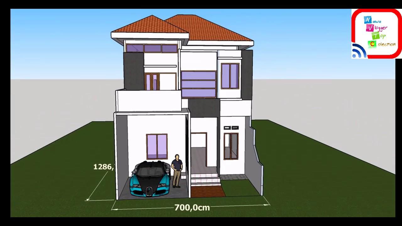 860+ Gambar Desain Rumah Lantai 2 Kamar 4 Terbaik Download