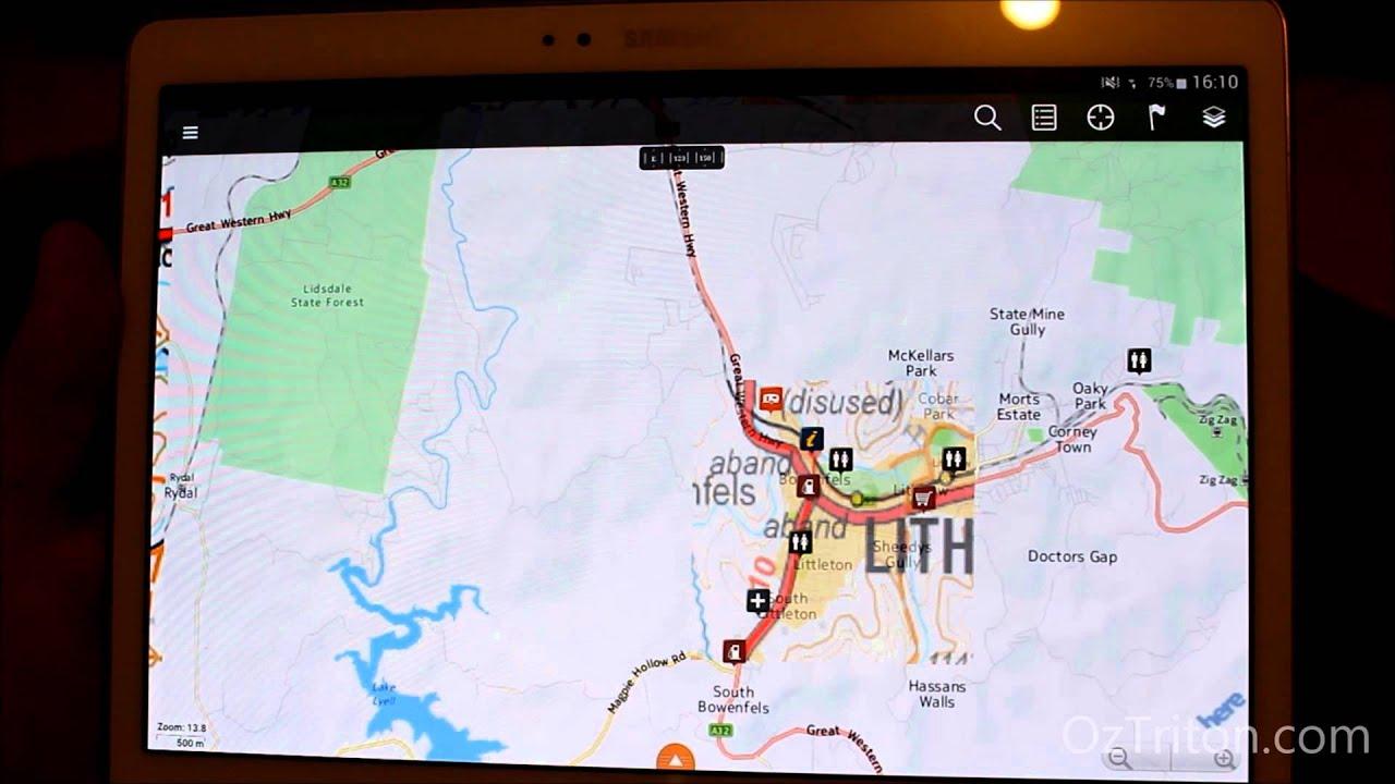 Hema Maps Android Hema Maps on Android   YouTube Hema Maps Android