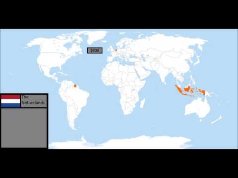 Rise and fall of the Dutch Empire