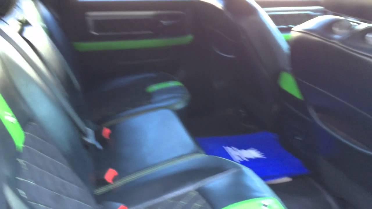2014 Dodge Ram Custom Paint Upholstery Youtube