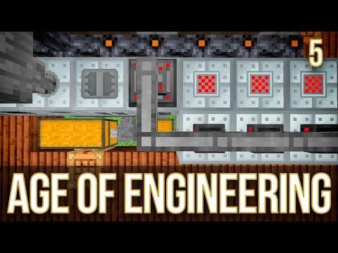 IC2 Blast Furnace Automation | Age of Engineering | Episode 5