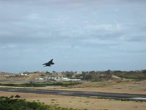 F-15 C Takeoff for Air Patrol Grenada 04/19/2009