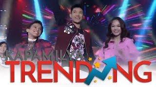 """Darren, AC, & Awra hataw sa kanilang performance ng """"Tala"""" ni Sarah G"""