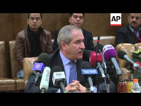 UN and Jordan officials with released peacekeepers, comments