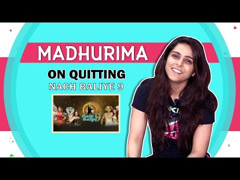 madhurima-tuli-on-quitting-nach-baliye-9?-|-pressure,-ex-&-more