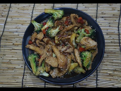 🍚🐉🍗 Chinese Chicken Broccoli Recipe – Stir Fry Asian Wok – How to cook